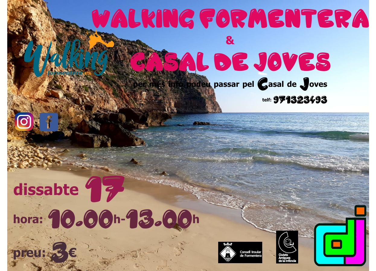 Walking Formentera i CAsal de Joves