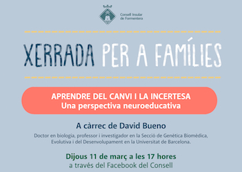 Neuroscience expert David Bueno leads Thursday's 'Talks for families'